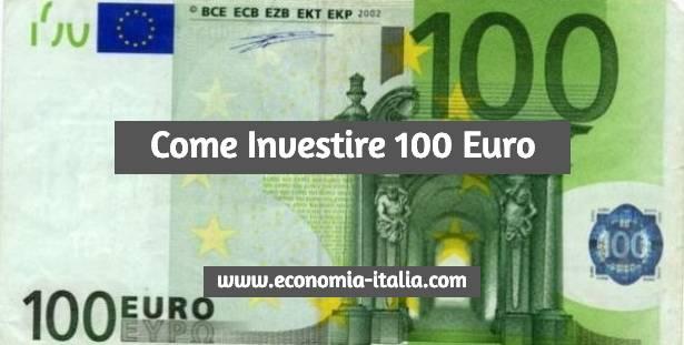 far fruttare 100 euro