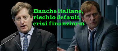Banche italiane a rischio default previsioni