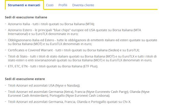 bancoposta trading online come funziona