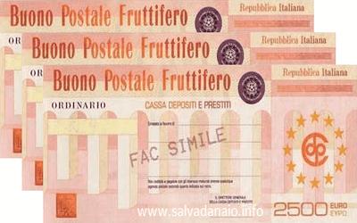 come risparmiare soldi, buoni postali