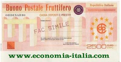 come risparmiare con i buoni postali di poste italiane