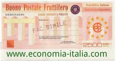 Rendimento Buoni Fruttiferi Postali 2017 consigli, conviene comprare?