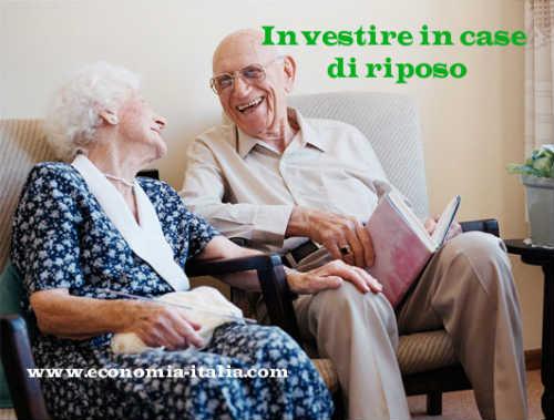 investimenti migliori da fare: le case di riposo