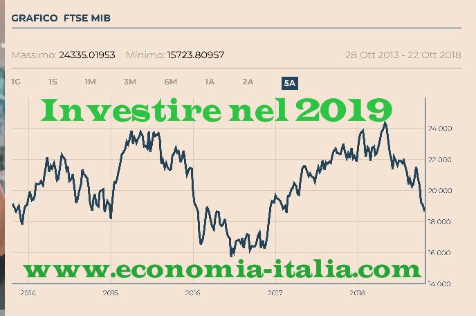 d580e907e7 Come e Dove Investire Soldi nel 2019: Investimenti Sicuri e Redditizi