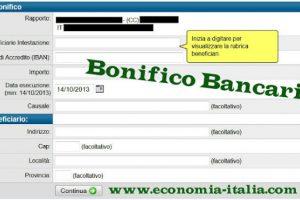 Bonifico bancario e bonifico postale: come funziona, costi per Italia ed estero