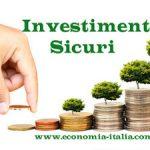 Investimenti sicuri Poste o banca?
