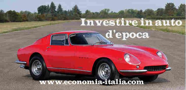 Investire in auto d'epoca e moto storiche