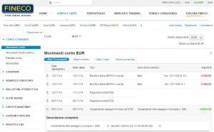 su quale banca aprire un conto corrente: finecobank