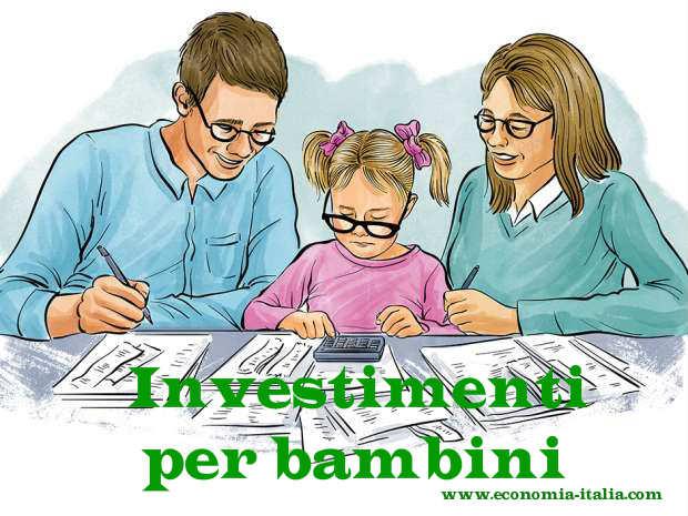 Investimenti per bambini migliori nel 2019: su cosa investire?