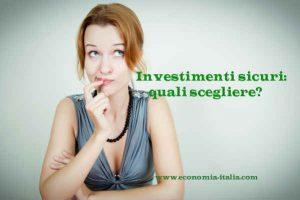 Investimenti sicuri, quali scegliere: mattone, obbligazioni o fondi comuni?