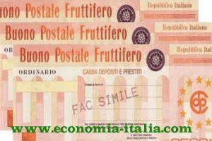Tipologie Buoni Fruttiferi Postali per il 2019