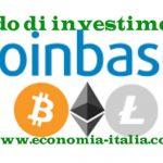 Fondo di investimento Coinbase ( bitcoin e criptovalute): conviene?