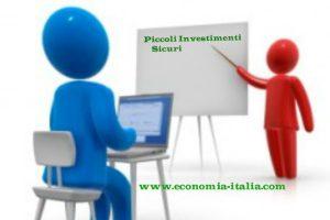 Piccoli investimenti sicuri e redditizi 2019