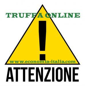 attenzione truffa online
