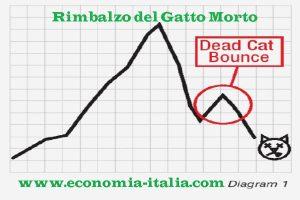 Rimbalzo del Gatto Morto: Cos'è il Dead Cat Bounce nel Trading