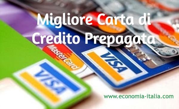 migliore carta di credito ricaricabile prepagata