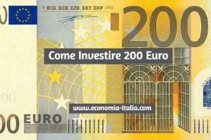come investire 200 euro