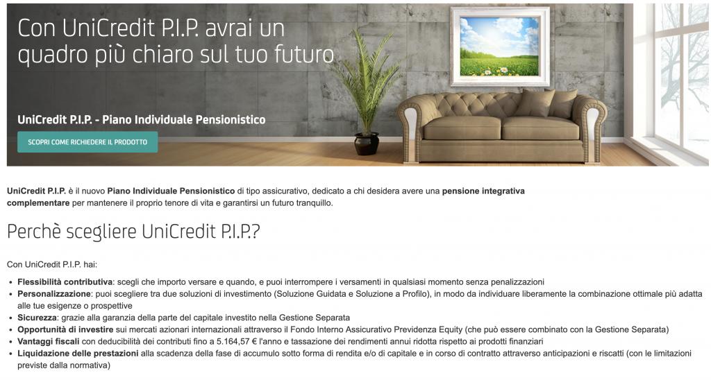 Pensione Integrativa Unicredit: Opinioni, Calcolo, Conviene?