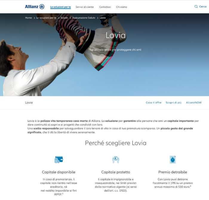 Assicurazione Vita Allianz Lovia, Opinioni, Come Funziona?