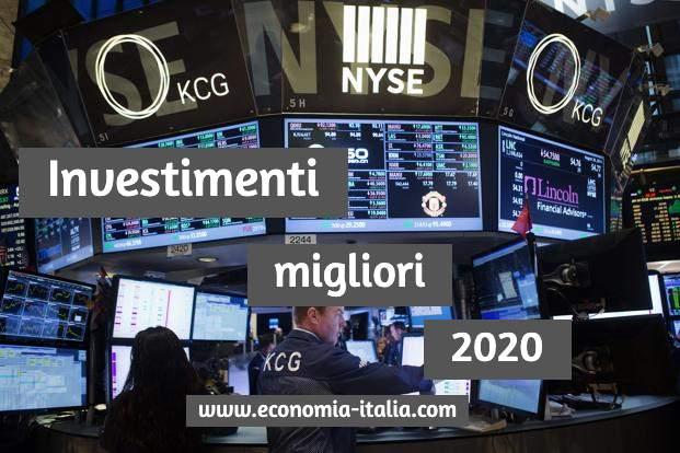 Investimenti Migliori nel 2020, I Settori in Crescita più Redditizi