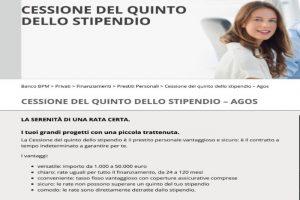 Cessione del Quinto Banco BPM Stipendio e Pensione 2020: Conviene Prenderlo?