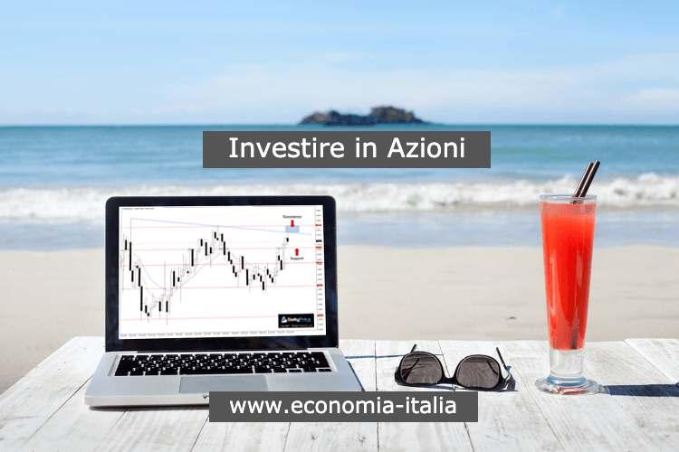 investire in azioni e fare trading dalla spiaggia