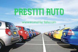prestiti auto migliori più convenienti