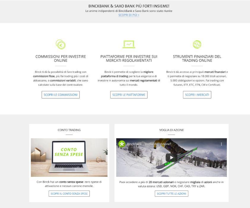 BinckBank: Opinioni, funzionamento, costi per fare Trading Online