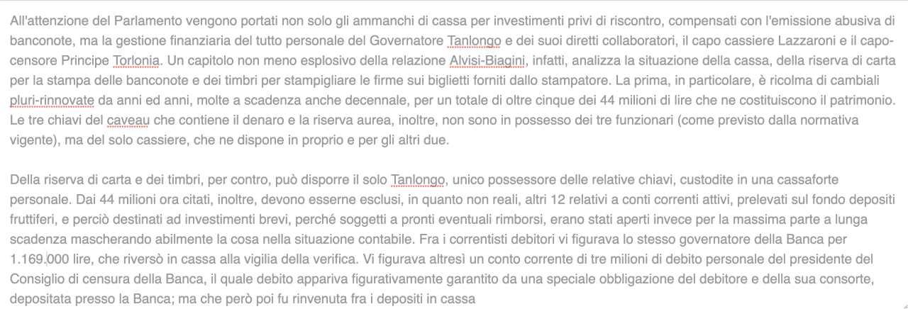 Banche Fallite in Italia o aiutate dallo Stato dal 1892 al 2020