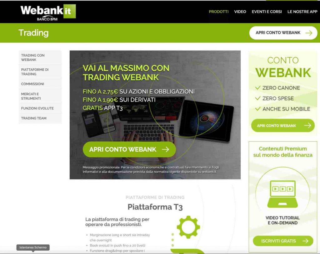 WeBank Opinioni e Costi 2020 per fare Trading Online