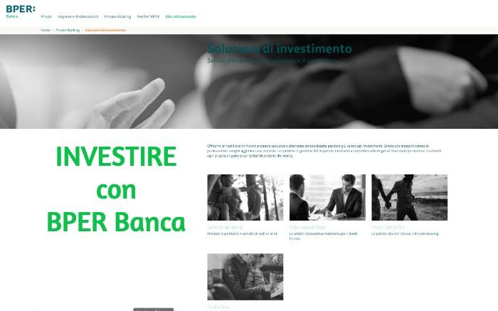 Investimenti con BPER Banca, quali sono i migliori?