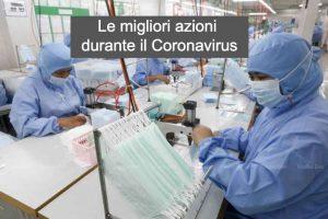 Le Migliori Azioni da Comprare con il Coronavirus COVID-19
