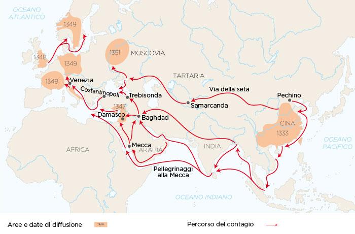 pandemie nella storia