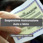 Sospensione dell'Assicurazione Auto e Moto: Come Richiederla