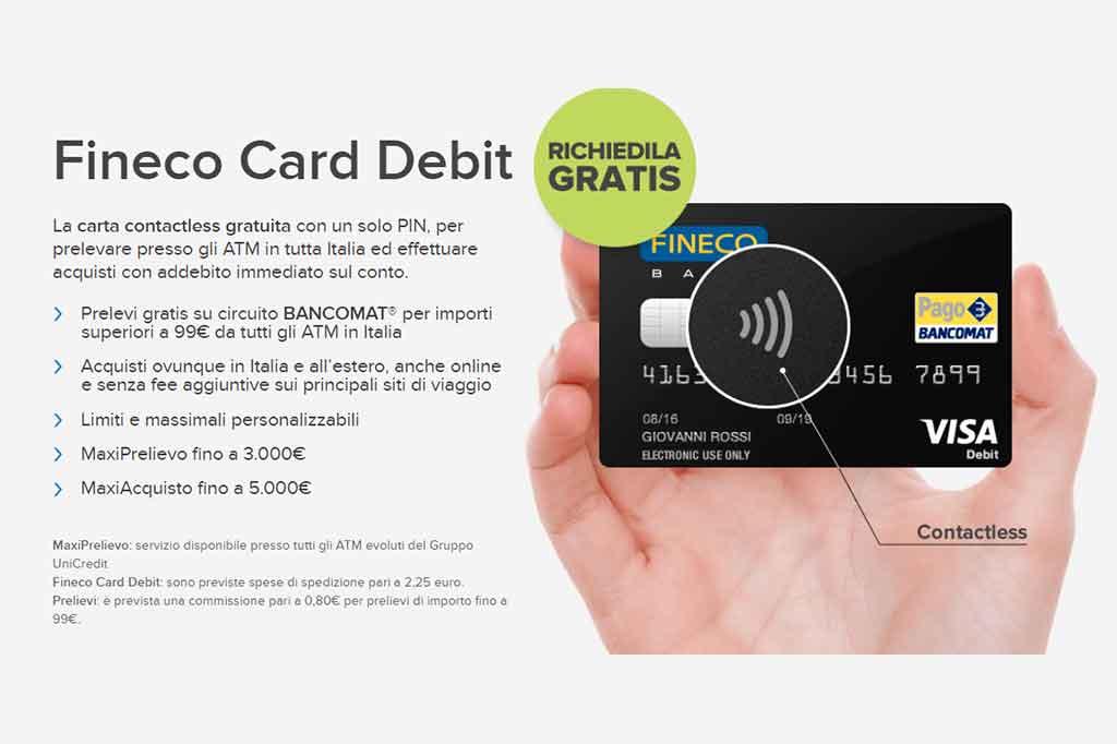 Carta di Credito Fineco: Opinioni e Costi di Ricaricabili, Debito e Gold