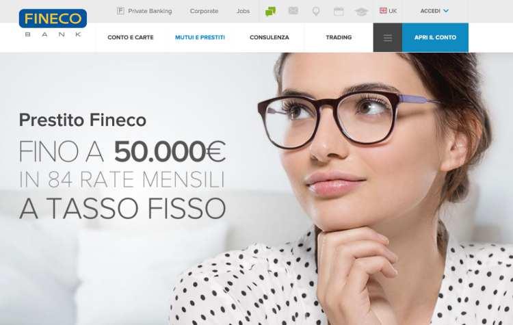 Prestito Fineco: costi, caratteristiche, opinioni