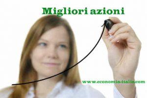 Migliori Titoli Azionari Italiani della settimana Giugno