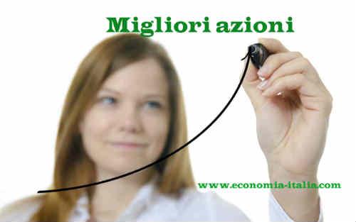 Migliori Titoli Azionari Italiani della settimana