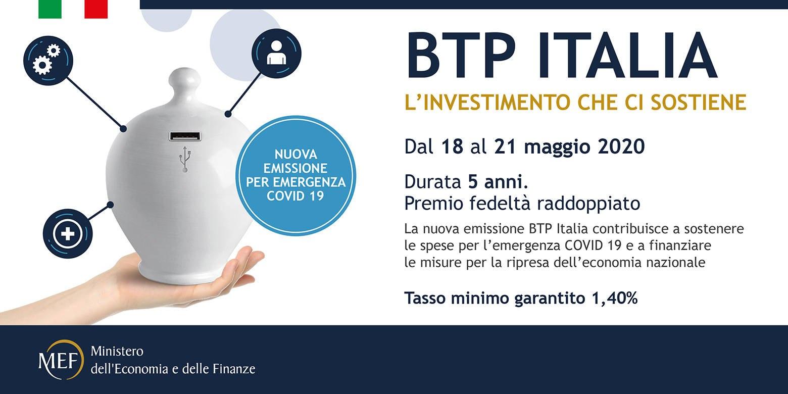 titoli di stato btp italia