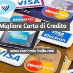 Migliore Carta di Credito di questo mese