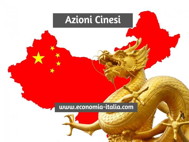 Azioni Cinesi da Comprare nel 2021 per fare investimenti