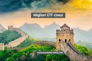 Migliori ETF Cinesi 2021 ( Primo Trimestre ) su cui Investire